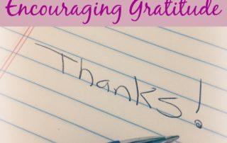 Family Activities: Encouraging Gratitude