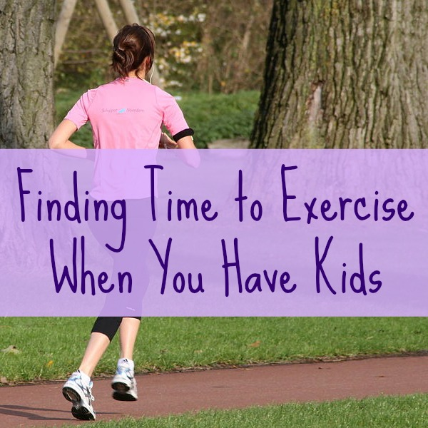 Finding Time to Exercise When You Have Kids