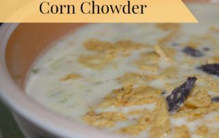 Sweet Potato and Bacon Corn Chowder