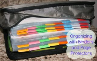 Organizing with Binders