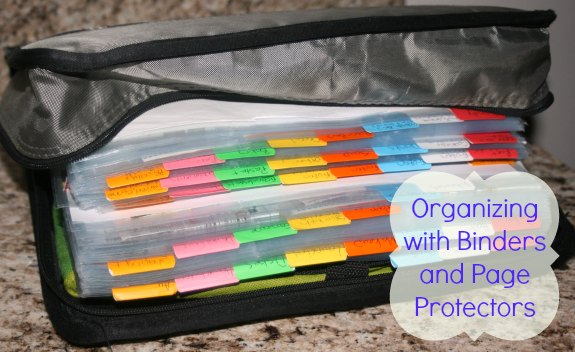 Organizing with Binders