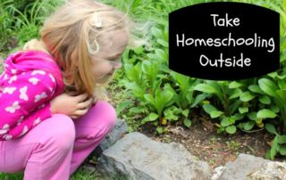 Take Homeschooling Outside