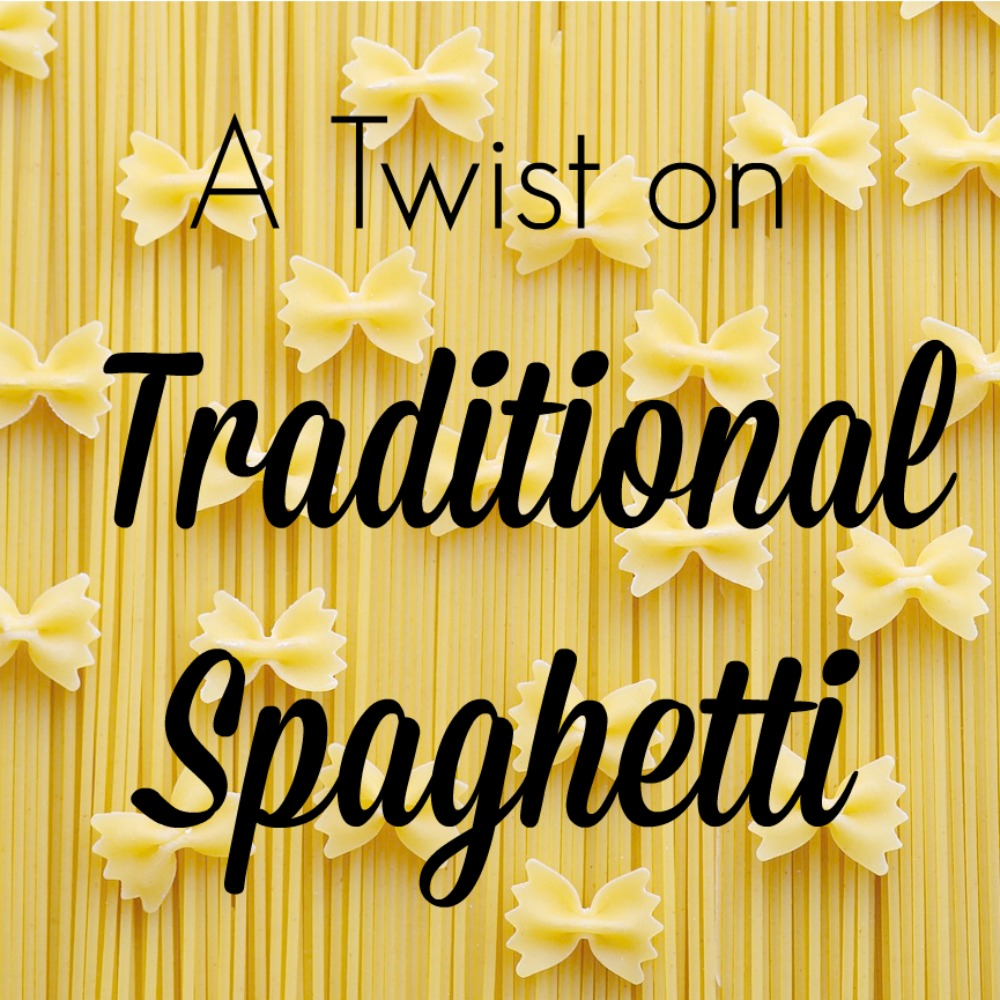 A Twist on Traditional Spaghetti