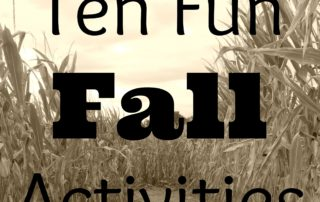 Ten Fun Fall Activities