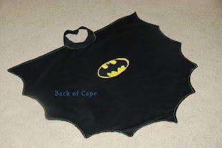 DIY Batman Cape