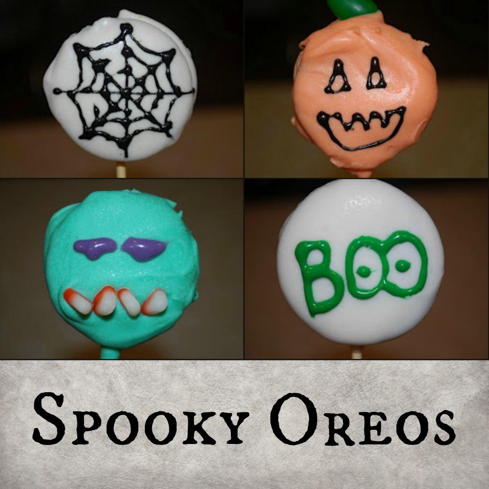 Spooky Oreos