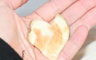 Homemade Heart Shaped Potato Chips