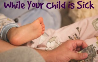 Activities to do while your child is sick