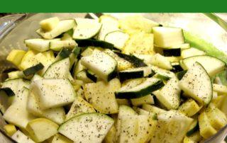 Steamed Zucchini