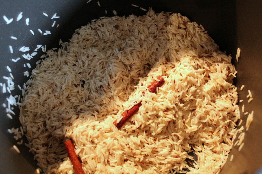 Basmati Rice Cooking