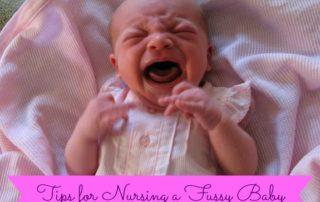 Nursing a Fussy Baby