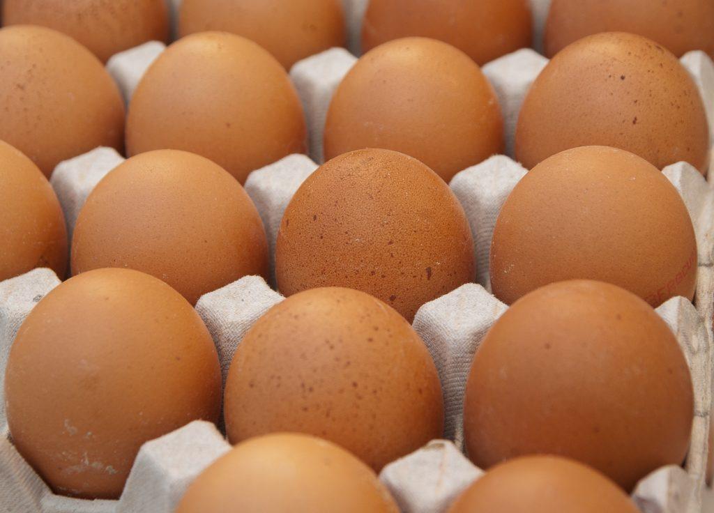 Eggs Baking Kitchen