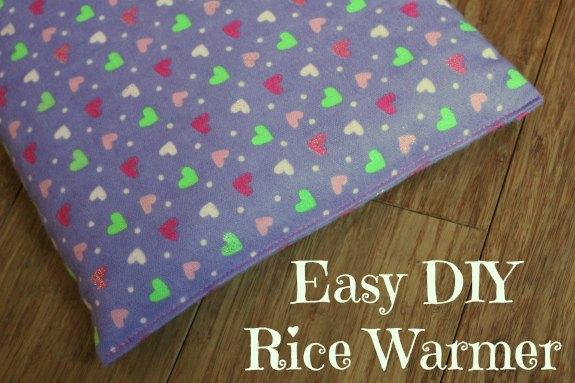 Easy DIY Microwave Rice Warmer