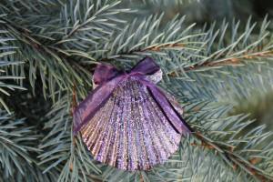 Homemade Seashell Ornaments
