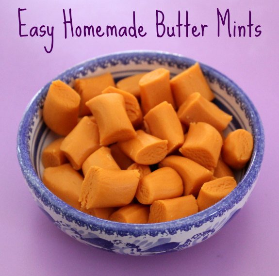 Easy Homemade Butter Mints