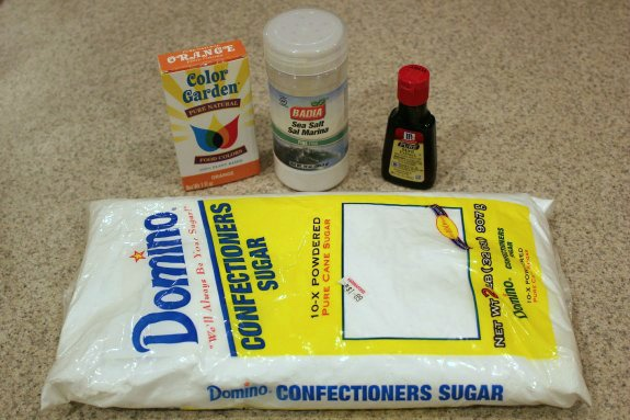 Easy Butter Mints Ingredients