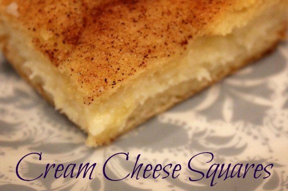Cream Cheese Squares — A Nation of Moms