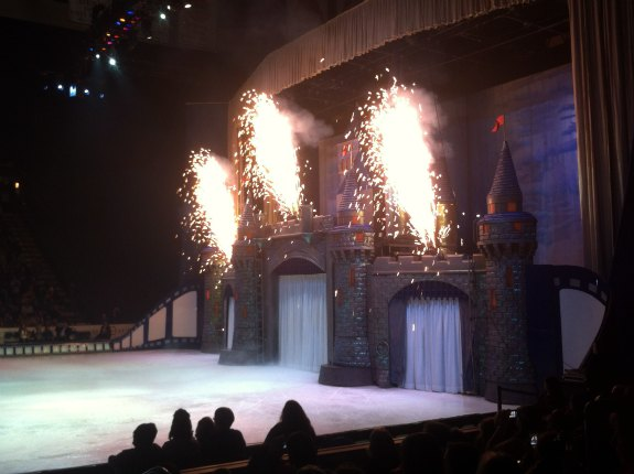Disney On Ice Pyrotechnics