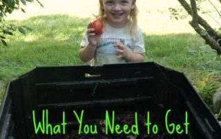 What you need to get started with composting