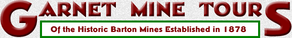 Barton Garnet Mine Tours