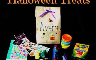 Candy-Free Halloween Treats