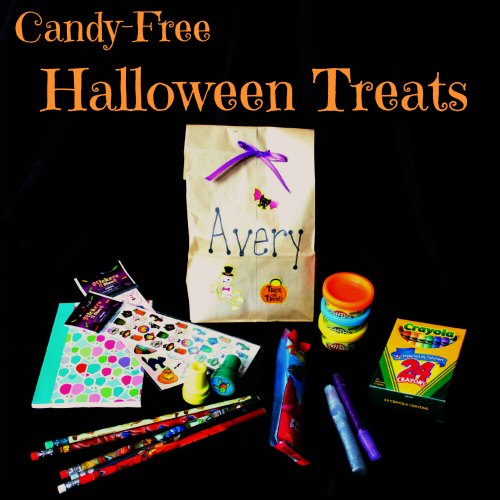 Candy-Free Halloween Treats