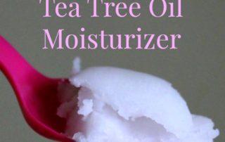 Coconut Oil Tea Tree Oil Moisturizer