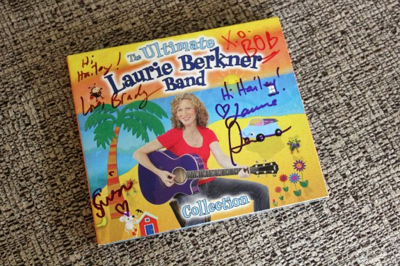 Laurie Berkner Band CD