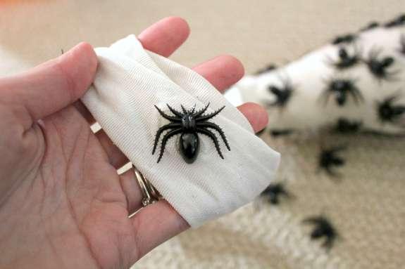 DIY Spider Egg Sac