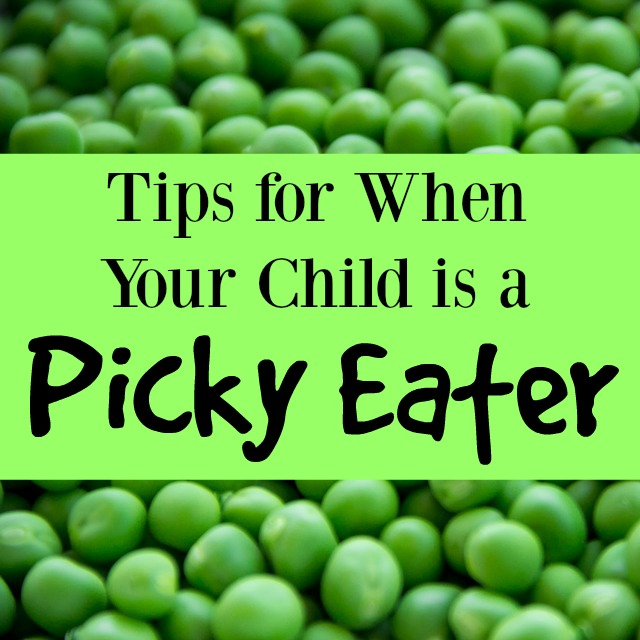 Tips for When Your Child is a Picky Eater