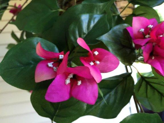 Bougainvillea Realistic Silk Plant