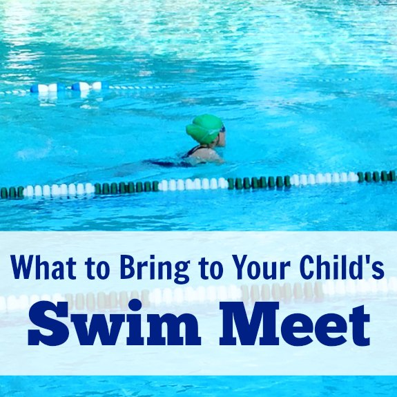 What to Bring to Your Child's Swim Meet