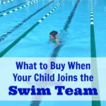 What to Buy When Your Child Joins the Swim Team