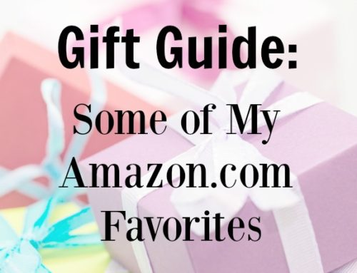 Gift Guide: Some of My Amazon.com Favorites