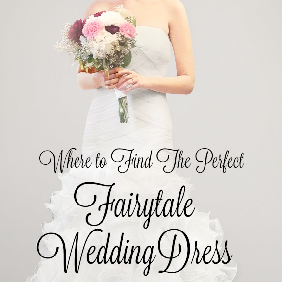 Where to find the perfect wedding dress
