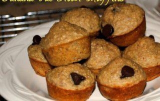 Easy Banana Oat Flour Muffins