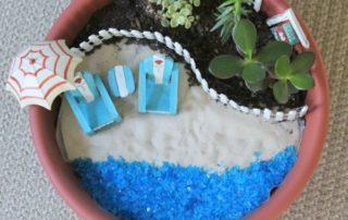 DIY Beach Fairy Garden