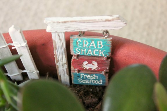 DIY Beach Fairy Garden
