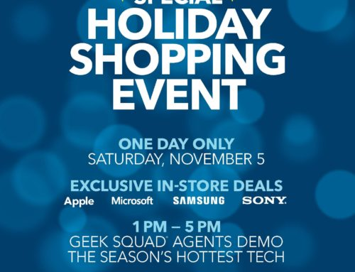 Best Buy Holiday Shopping Event November 5th!