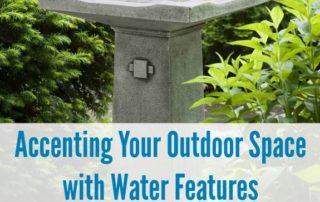 Outdoor Water Features