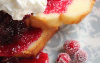 Evite Cranberry Shortcake