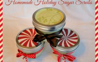 Homemade Holiday Sugar Scrubs