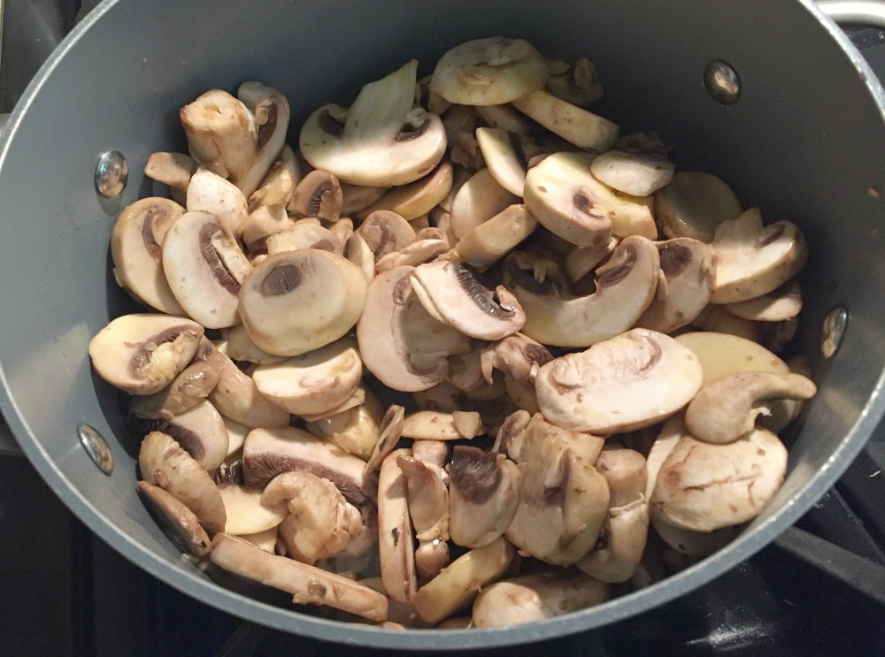 Chopped Mushrooms