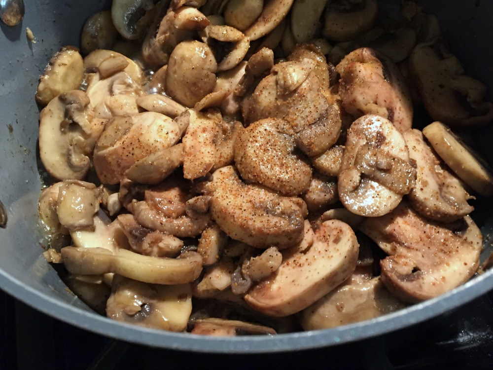 Mushrooms Seasoned