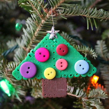 Perler Bead Christmas Tree Ornament