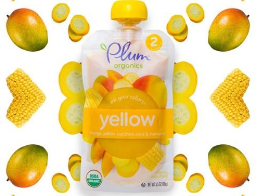 "Plum Organics New ""Eat Your Colors"" Baby Food Pouches"