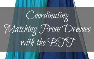 Coordinating Prom Dresses