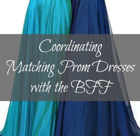 Coordinating Prom Dresses