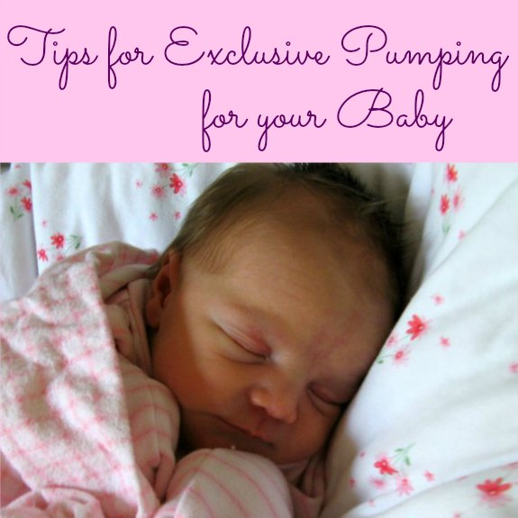 Tips for Exclusive Pumping for your Baby