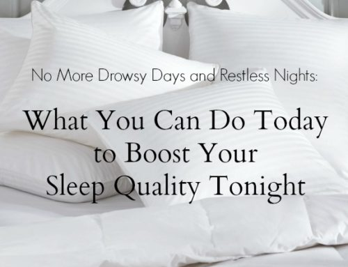 What You Can Do Today to Boost Your Sleep Quality Tonight